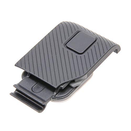 Lente Filtro UV Puerto Hdmi Impermeable Reemplazo Accesorio Protector cámara Reparación A Prueba Polvo Mini Instalación fácil Marco Datos Cubierta Puerta Lateral para GoPro Hero 5 6 Negro(HDMI)