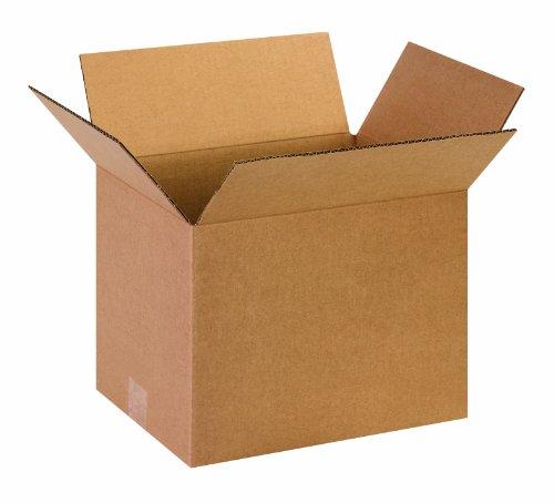 Aviditi 131010 - Caja de cartón corrugado (33 x 25 x 25 cm, 25 unidades)