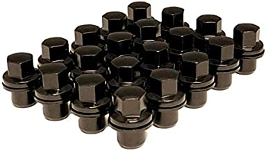 Set of 20 Eisen Performance Black OEM Factory Style Lug Nuts Compatible with Stock Wheels Land Range Rover HSE Sport LR3 LR4