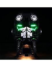 BAXT Ledverlichtingsset voor Lego Scout Trooper helm, bouwset, led-licht, compatibel met Lego 75305 (geen Lego-model), gecontroleerd door typeplaatje