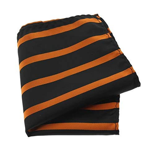 Clj Charles Le Jeune. Pochette. URBANE CLUB, Microfibre. Orange, Club/rayé.