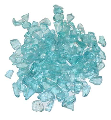 """Dekosteine/Streudeko/Tischdeko\""""Glassplitt Blue Ice\"""" 5-10mm Glas Türkis"""