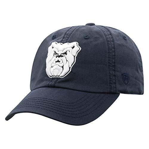 Top of the World Verstellbare Mütze mit entspannter Passform, Team-Farbe, Herren, Butler Bulldogs Navy, Einheitsgröße