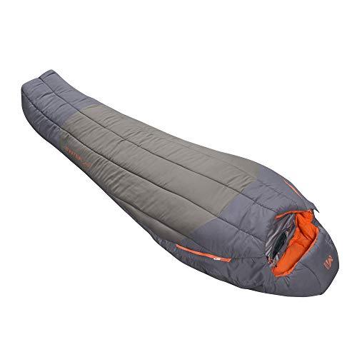 Millet - Syntek 0°C Reg - Erwachsenenschlafsack mit Aufbewahrungsbeutel - Synthetisch - Komforttemperatur 5°C - Länge: 210 cm - Grün/Grau