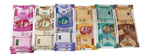 CASA Enterprises Artificial Coupon Currency ( 100 Pieces ) for Kids