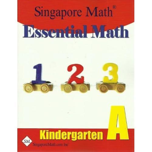 Essential Math, Kindergarten Level A