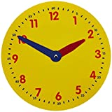 Didax Educational Resources Magnetic Demonstration Clock Math Manipulative, 12 inch diameter