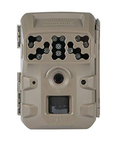 Moultrie A300 Infrared Flash Trail Camera (2019) | A-Series | MOU Mobile Compatible, Sand, One Size