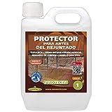 PROTECER MONESTIR Protector de antes del rejuntado para baldosas terracotta o barro cocido (1 litro)