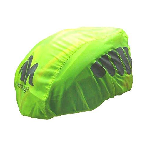 2win2buy Helmüberzug, Fahrrad Wasserdicht Helmregenüberzug Regenschutz Helmschutz mit Reflektierendem Aufdruck Wind & Sonne Schutz - 2