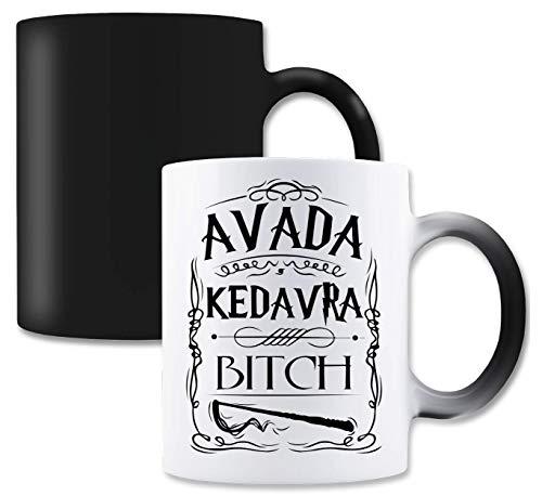 RaMedia Avada Kedavra Bitch Magische Tee-Kaffeetasse