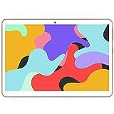 YOTOPT Tablet 10 Zoll, Android 10.0, 64GB ROM, 4GB RAM Tbalet PC mit SIM-Kartensteckplätzen, WiFi/GPS/Bluetooth/Type-c (Gold)