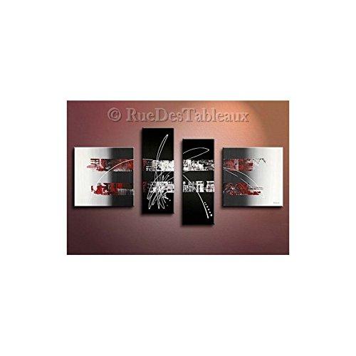 ruedestableaux - Tableaux abstraits - tableaux peinture - tableaux déco - tableaux sur toile - tableau moderne - tableaux salon - tableaux triptyques - décoration murale - tableaux deco - tableau design - tableaux moderne - tableaux contemporain - tableaux pas cher - tableaux xxl - tableau abstrait - tableaux colorés - tableau peinture - Tranches de ville