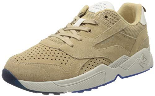 GANT Footwear Herren NICEWILL Sneaker, Beige (Beige G11), 42 EU