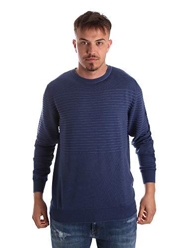 Navigare NV00196AD 30 Pullover Man Blau 4XL