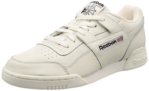 Reebok Workout Plus Mu, Zapatillas de Deporte Hombre, Multicolor (Vintage/Chalk/Black 000), 36...