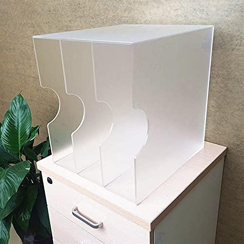 Nai-storage Caja de Almacenamiento de Discos de Vinilo acrílico, Oficina de 12 Pulgadas, Soporte de LP Mate de una Cara, Estante de exhibición, Disco de CD, gabinete de Discos de Vinilo para el hogar