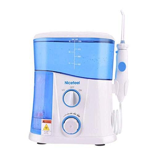 Nicefeel FC-188 water flosser oral irrigator 1000mL water tank 360 degree cleaning of oral cavity UV lamp Disinfection