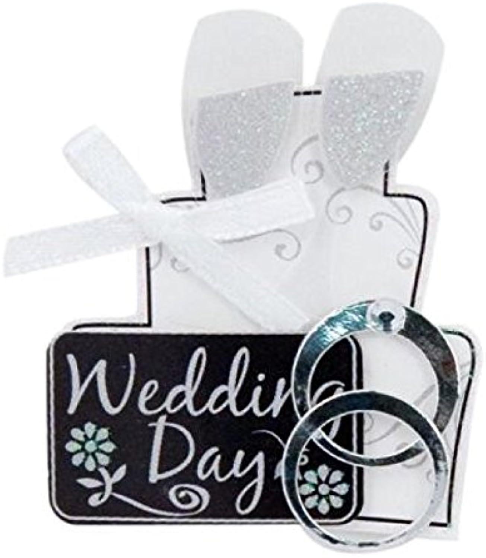 Unbekannt Hochzeit Lil 'Stacks 3D-für den den den Heimbereich B004BPY8CQ | Verrückter Preis  5dabd9