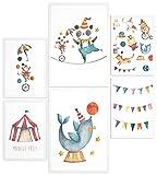 Papierschmiede® Kids Mood-Poster Set Manege Frei |