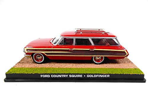 OPO 10 - 1/43 Ford Country Squire James Bond 007 Auto dal Film Goldfinger (DY105)