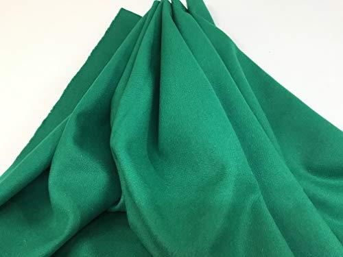 telas por metros PAÑO REGIONAL LANA verde billar
