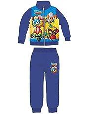 Chándal chaqueta cremallera, pantalón camiseta, superzings jogging 3 piezas