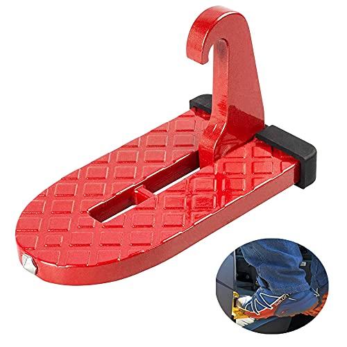 Innufeal Car Pedal Door Step Folding Ladder Footpegs Vehicle Hook Pedal...