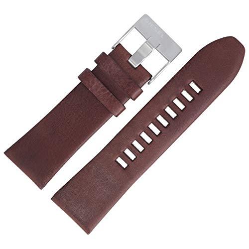 Diesel DZ-1399 - Correa de piel para reloj (27 mm), color marrón