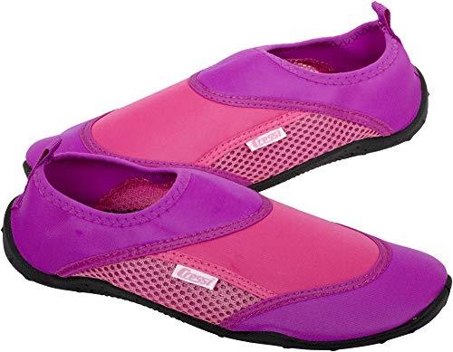 Cressi Coral Shoes Zapatilla para Deportes Acuáticos, Adultos Unisex, Lila/Rosa, 37