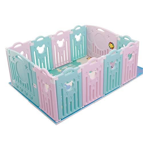 ZXRET Baby Fence Home Barrière de Jeu pour Enfants Baby Baby Toddler Safety Fence Barrière de Jeu à l'intérieur