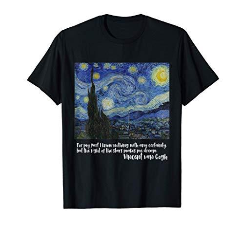 Noche estrellada de Vincent van Gogh - Camiseta con mangas