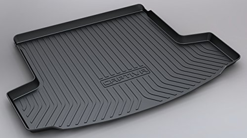 100% new Coche Alfombrillas Maletero, para Chevrolet CAPTIVA 2013-2019 Goma Alfombrillas antideslizantes Impermeable Maletero Trasero Alfombra Protection Accesorios