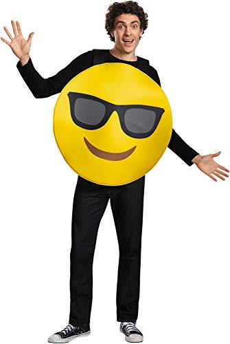 Emoji Costume - One Size - Chest Size 38-52