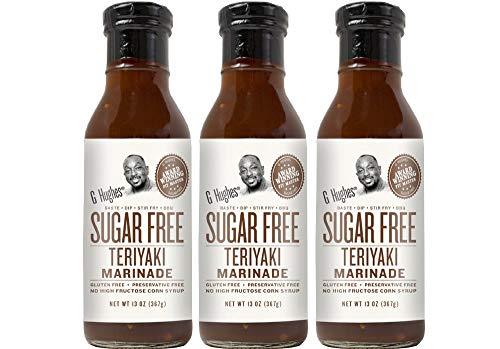 G Hughes Sugar Free Original Teriyaki Sauce 13 oz