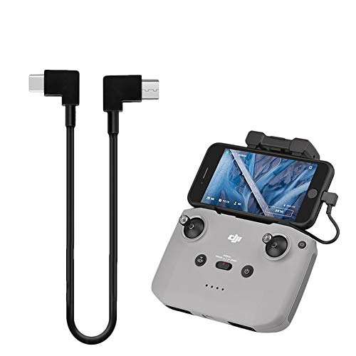 O woda Cavo Dati da Tipo C a Micro USB Adattatore per Trasmissione Immagine   Dati per Cellulare a telecomando del drone Compatibile con DJI Mini 2  Mavic Air 2 (Non per Mavic Air) Osmo Pocket 2
