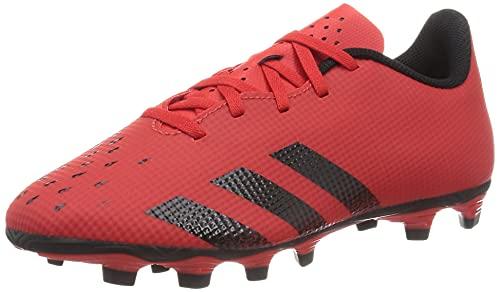 adidas Predator Freak .4 FxG, Zapatillas Deportivas Hombre, Rojo/NEGBÁS/Rojo, 44 EU