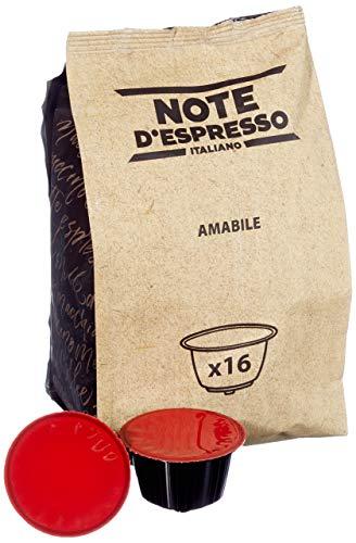 Note D'Espresso Amabile Kaffeekapseln, ausschließlich Kompatibel mit Nescafé* und Dolce Gusto* Kapselmaschinen 7g x 96 Kapseln