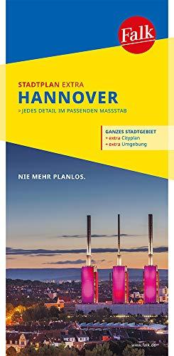 Falk Stadtplan Extra Standardfaltung Hannover 1:20 000: mit Ortsteilen von Garbsen, Hemmingen, Isernhagen, Laatzen, Langenhagen (Falk Stadtplan Extra Standardfaltung - Deutschland)