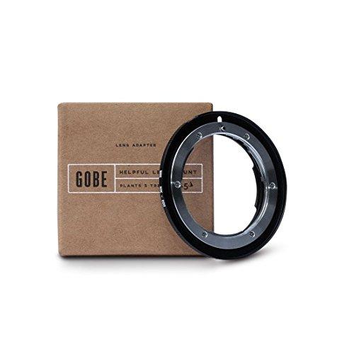 Gobe - Adattatore di montaggio lente: compatibile con lente Nikon...