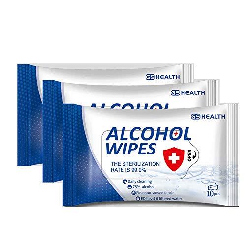 Alkohol-Reinigungstücher, 75 % Alkohol-Reinigungstücher