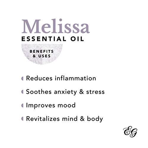 Edens Garden Melissa Essential Oil, 100% Pure Therapeutic Grade 5 ml