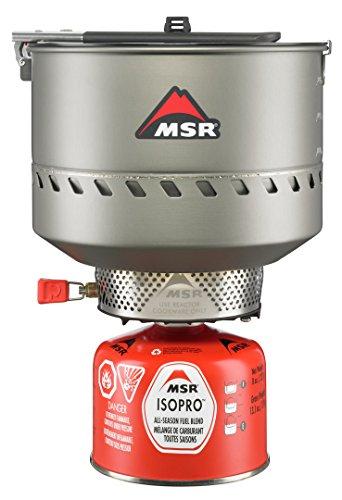 MSR Reactor Stove System Estufa de mochilero, Hombre, 1 Color, 2.5L US
