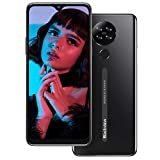 Mobile Phone,Blackview A80 4G Smartphone SIM Free Phones Unlocked,Android 10 Phone with 6.217 inches Waterdrop Screen,13MP Quad Camera,4200mAh,2GB+16GB/128GB Extension,Face/Fingerprint Unlock-Black