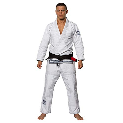 Fuji Suparaito BJJ GI Martial Arts Uniform, White, A3