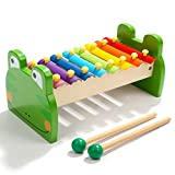 Hh001 Children's hands knock on the piano, children's musical instruments, wooden percussion instruments, percussion instruments, rhythm instruments, children's gifts