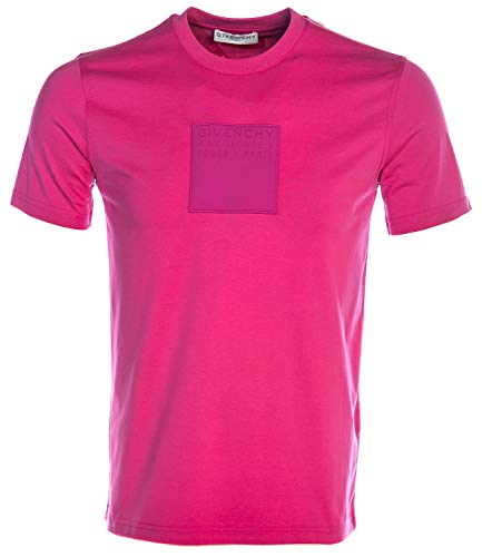 Givenchy Logo T Shirt in Pink