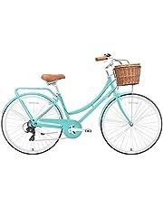 دراجة بلاتينيوم سيتي 700 سي من سبارتان، اخضر فاتح