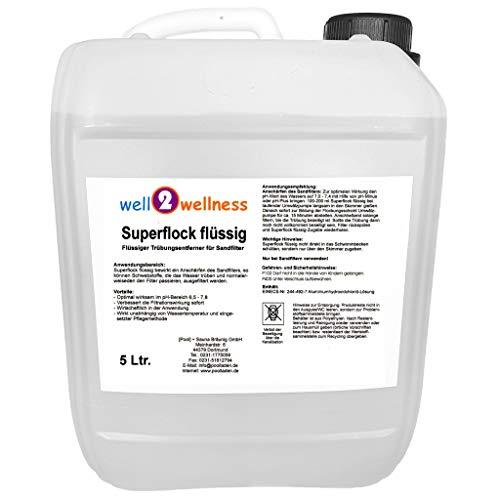 Superflock flüssig/Flockmittel flüssig 5,0 l