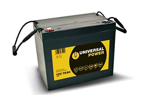 Universal Power 12-75 12V 78Ah (C20) AGM Solarbatterie, Wohnmobilbatterie